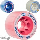 SURE GRIP Sugar, Sweet 'n Low, Equalizer Rollerskate wheels Roller Derby 85a x4 Indoor Grip Outdoor